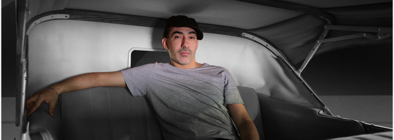 """Viaje a través del celuloide con Dj Spacio en """"Cinema Tornamesa"""