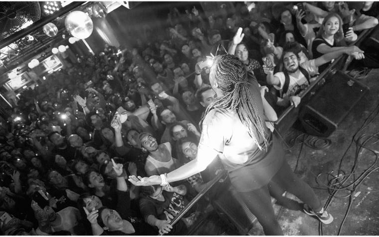 """""""Vengo latente como el Hip Hop en Chile"""": Arianna Puello knockeó Club Subterráneo con su """"Gancho Perfecto""""."""