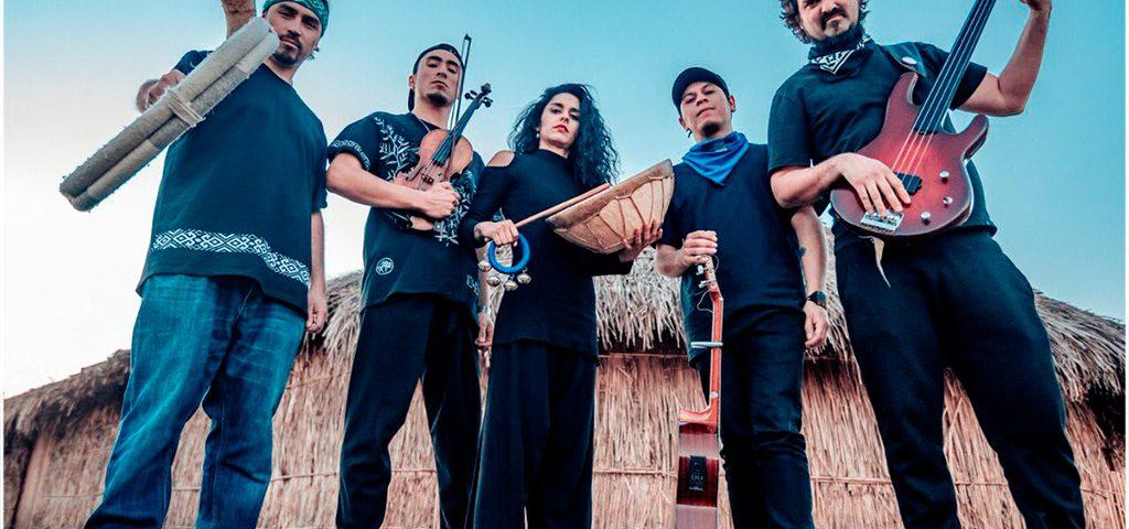 """Del rap mapuche y todavía más allá: Waikil y su banda estrenan """"Sesión en vivo en la Ruka"""""""